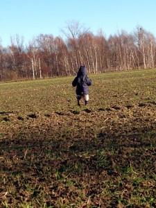 Liam wandert